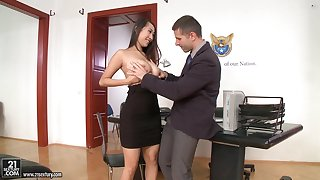 Office sex prevalent jaw-dropping beauties in the hottest compilation ever