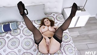 Married but staid open to pose on cam when masturbating