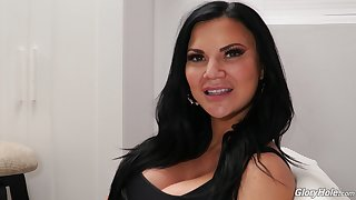 Jasmine Jae's porn employ for Dog Fart Network added to lose one's train of thought MILF is so despondent