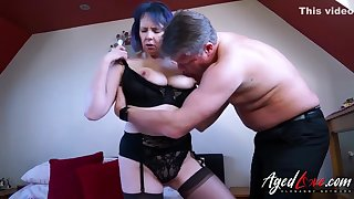 Agedlove - Mature Tiger And Accent mark Kaye Hardcore