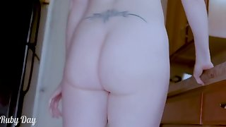Solo Milf Baking Mothers Cookies Naked. Recipe